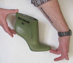 Моделирование обувных колодок. На фото: женская колодка TUBO разработана в 3D CAD/CAM, впоследствии изготовлена на колодочном фрезерном станке с ЧПУ. http://gerasinobuv.ru/fason-kolodki