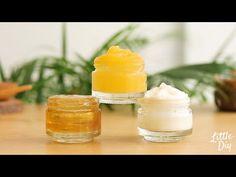 LITTLE DIY - YouTube Coconut Hair Treatment, Skin Gel, Dry Skin, Homemade Skin Care, Homemade Beauty, Fresh Aloe Vera, Skin So Soft, Natural Skin, Glowing Skin