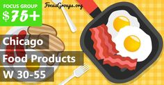 Focus Group for Women on Food Products in Chicago  $75 - FocusGroups.org