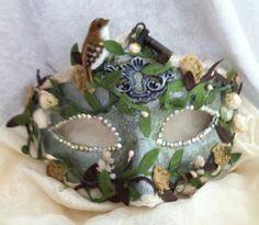 Lady Secret Garden  / Venetian Inspired Mask by MaskedEnchantment, $65.00