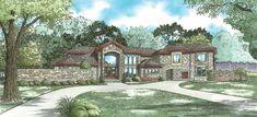 Mediterranean Style | House Plan 5037 Villa Talulla