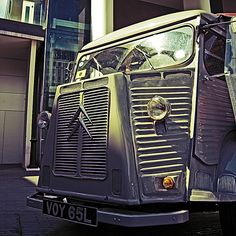 Citroen HY Citroen Van, Citroen Type H, Photo Vintage, Vintage Cars, Hell On Wheels, Fire Engine, Commercial Vehicle, Toyota Corolla, Old Trucks