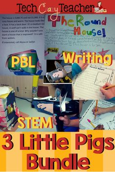 PBL at its best! Project-Based Learning based on the beloved story of 3 Little Pigs. Fairy tales come to life in this project-based resource! Students connect to the fairy tale story while engaging in building a house that the wolf can't blow down. Then students write persuasive ad and make a poster to sell their house. Using  graphic organizers, students react to literature engaging in higher order thinking skills.
