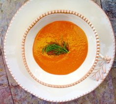 Recipe for Health: Zuppa di Carote & Finocchio