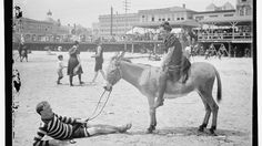 To help get you through this heat wave, take a trip down memory lane with more than a dozen historical photos dating back to 1890 of beach-goers beating the heat in the Atlantic City.