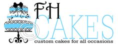 custom cake logo design