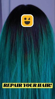 Natural Hair Care Tips, Curly Hair Tips, Natural Hair Styles, Hair Dye Tips, Herbs For Hair, Hair Cleanser, Cute Hair Colors, Diy Beauty Treatments, Diy Hair Mask