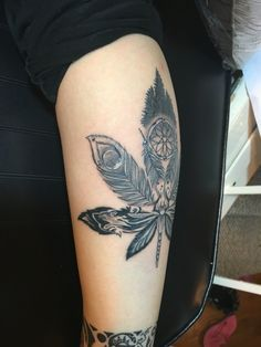 Weed Tattoos For Girls Girlie