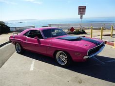 I NEED THIS CAR!!!!!  1970 PHANTER PINK DODGE CHALLENGER 2 DOOR HARDTOP