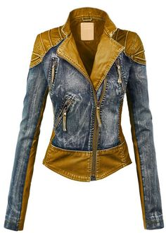 LL Womens Hooded Faux leather Jacket ✮✮✮✮  778 customer reviews. Color: WJC1016_CAMEL. 100% POLYURETHANE (shell) 100% POLYESTER(lining) Exposed zipper details Fully lined Medium weight HAND WASH COLD / HANG TO DRY / DO NOT IRON / DO NOT DRY CLEAN. https://twitter.com/TheMarketer2015/status/644553807125417985
