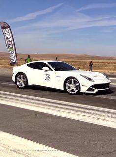 Ferrari F12berlinetta Vs Ferrari 488 GTB In A Half Mile Drag Race- Watch The Video