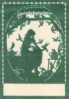 Blank bookplate-Judith Walker's Collection