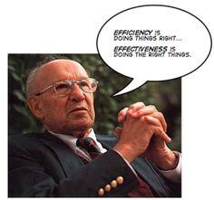 """Drucker: """"Necesitamos Medir, no Contar"""" (segunda parte)"""
