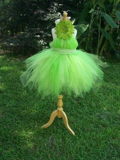 Tinkerbell...so want to make this for Liz to wear for her bday party