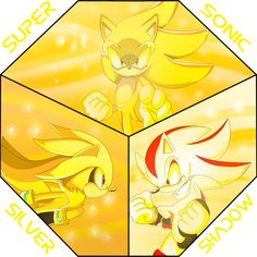 Super Sonic, Shadow And Silver