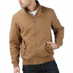 Beige easy going harrington jacket – The A Collection