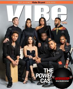 The cast of the hit TV show graces the latest cover of Vibe Magazzine.