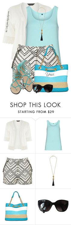 """""""~  Patterned Shorts  ~"""" by pretty-fashion-designs ❤ liked on Polyvore featuring Dorothy Perkins, Zhenzi, Topshop, Kenneth Jay Lane, New Directions and Chanel"""