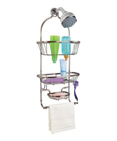 Take a look at this Copper Hammered Wire Three-Tier Shower Caddy on zulily today!