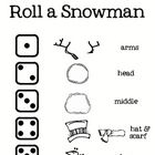 Cute seasonal math center game.  The children will love to roll the dice and build their snowman with a friend.  Each child gets one die to roll.  ...