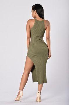 Endeavor Dress - Olive