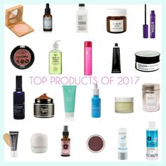 Top products of 2017 in green beauty, eco fashion and wellness. #greenbeauty #favorites #skincare #makeup #ecofriendly #natural #nontoxic #mindful #ethicalbeauty