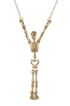 Skully Necklace !!