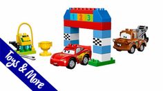 Disney Cars Lightning McQueen and Mater Lego Duplo 10600 Classic Race Subscirbe Channel Toys & More Thanks For Watching Watch also: Disney Pixar Cars Learnin...