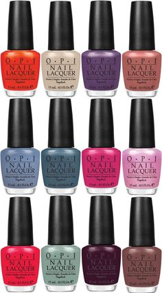 OPI's New Spring Nail Polish Colors Are Inspired by Holland. The Country.