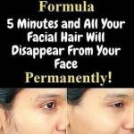 OLD KOREAN FORMULA 5 MINUTES AND ALL YOUR FACIAL HAIR WILL DISAPPEAR FROM YOUR FACE PERMANENTLY!!