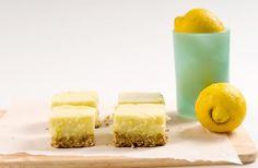 Rustic Lemonhead Oat Bars by Veggie Wedgie