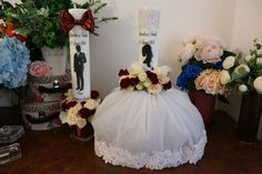Girls Dresses, Flower Girl Dresses, Decoupage, Decoration, Wedding Dresses, Flowers, Do It Yourself Crafts, Candles, Homes