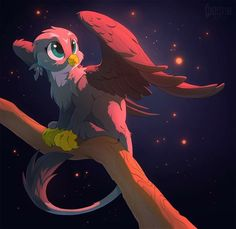 Most Adorable Cat-Birb Gabby by Hioshiru My Little Pony 1, My Little Pony Cartoon, My Little Pony Pictures, My Little Pony Friendship, Princess Twilight Sparkle, Mlp Characters, Cute Ponies, Mlp Fan Art, Sad Art