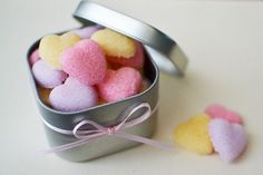 Tired of boring cubes of sugar? Now you can make your own sugar hearts with this step-by-step tutorial from Sweet Society.