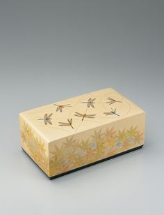 Urushi Art Box  Artists:Hitoshi Oota (1931-)    *Ningen Kokuho (Human national treasure)
