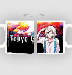"""Taza Juzo. Tokyo Ghoul  Estupenda taza titulada """"Juzo""""  fabricada en material de cerámica, 100% oficial y licenciada y perteneciente al manga/anime Tokyo Ghoul."""