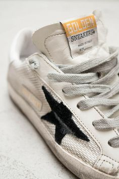 White Super Star Sneakers | Heist