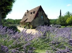 Cottage in the Dordogne region of France.