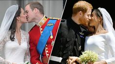 Prince William and Kate Middleton - Prince Harry and Meghan Markle Princess Diana Family, Princess Meghan, Prince And Princess, Princess Eugenie, Lady Diana, William Kate Wedding, Harry And Meghan Wedding, Prince Harry Wedding, Prince Harry Et Meghan