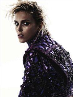 M: Anja Rubik, P: Knoepfel & Indlekofer (Vogue Germany September 2013)
