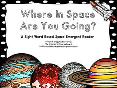 The Kindergarten Smorgasboard: phonemic awareness Kindergarten Smorgasboard, Kindergarten Literacy, Space Preschool, Preschool Activities, All About Space, Space Words, Outer Space Theme, Space Shows, Literacy Games