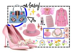 """Oh Baby 💞"" by aliceinthenavy on Polyvore featuring Pointer, Miu Miu, Gucci, Allurez, Manish Arora, VIVETTA, St. John, Mercedes Salazar and Aamaya by Priyanka"
