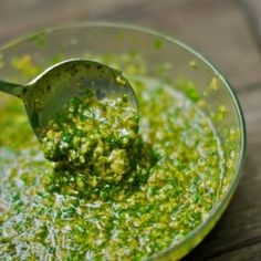 Beef Marinade is a Cambodian Food Recipe with cilantro and mint.