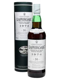 Laphroaig 1974 · 31 Y.o.