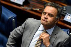 Depois de se aliar a Eduardo Cunha para jogar o País no caos, o senador Aécio Neves (PSDB-MG) fala em herança maldita ao promover, no Facebook, seu artigo sobre economia; a realidade, no entanto, mostra que o PIB brasileiro caiu quase 10% nos dois anos do golpe: 5% em 2015, quando Aécio e Cunha sabotaram o País, e 3,5% em 2016, quando Michel Temer e Henrique Meirelles aprofundaram a recessão