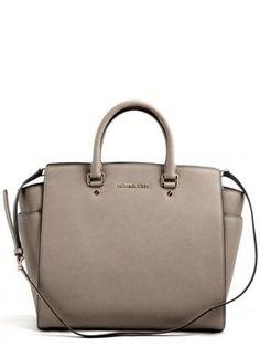5dcb7c96605d Michael Kors Selma large tote dark dune bag. Leather ... Michael Kors Fall