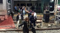 Galdino Saquarema 1ª Página: Trem atinge estação de passageiros em Nova Jersey