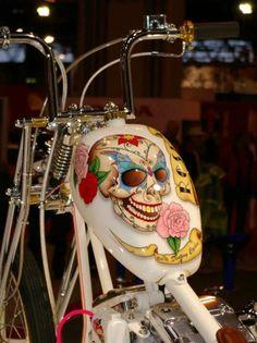 Motorcycle Tank Skull                                                                                                                                                                                 More