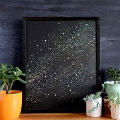 Galaxy Print by Brainstorm
