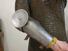 Historical armor arm harness 14th century footwear from france chain mail hauberkplate medieval armor